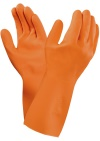 MARIGOLD/VersaTouch ORANGE LATEX 8½ LARGE